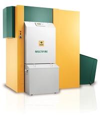 KWB Multifire Pelletheizung und Stückholzheizung