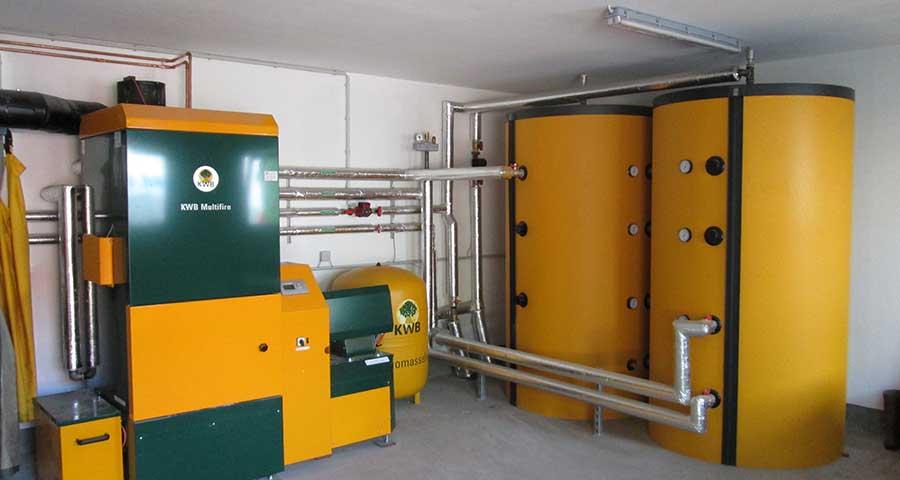 KWB Multifire auch für Mehrfamilienhäuser geeignet