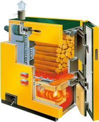 KWB Classicfire - Stückholzheizung
