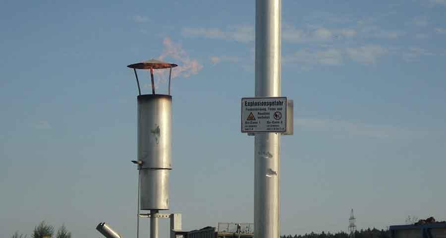 Inbetriebnahme Biogasanlage