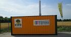 Mobile Heizcontainer mit Hackschnitzelheizung Biomasseheizung