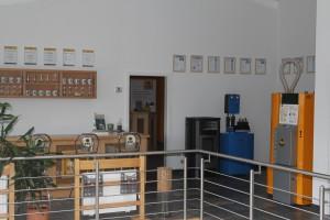Teil des Showrooms mit KWB und Buderus Anlagen