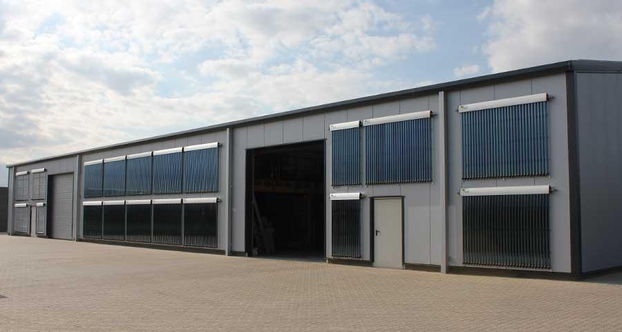 Montage und Lagerhalle am Standort Uelzen